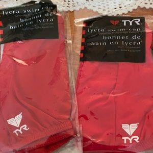 TYR Lycra swim cap model LCY
